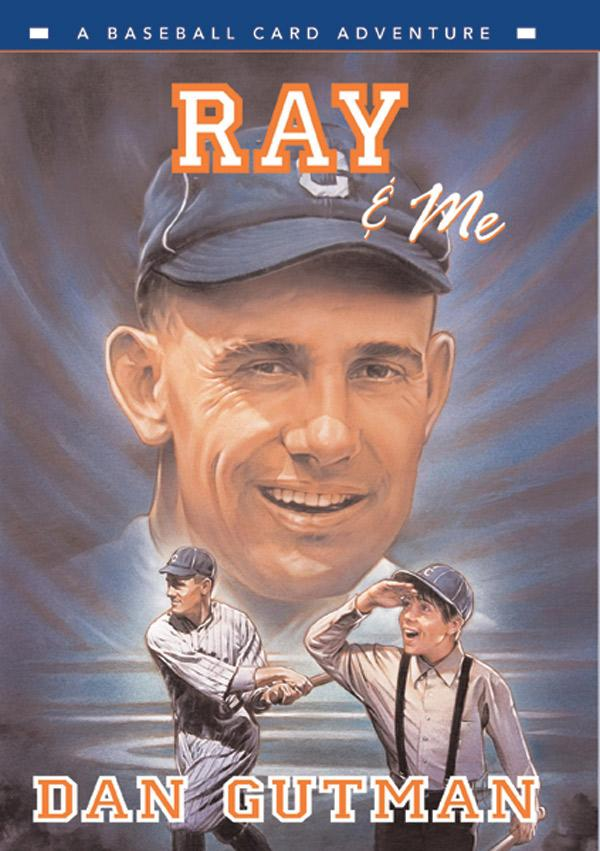 Junior Library Guild Ray Me A Baseball Card Adventure By Dan Gutman
