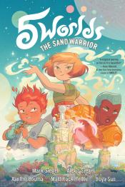 The Sand Warrior: 5 Worlds,  Book 1
