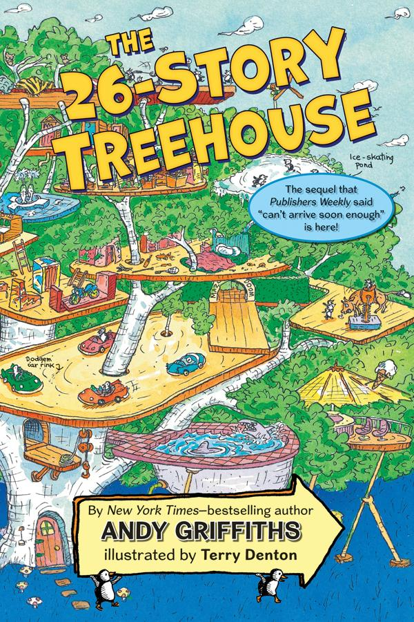 Andy Griffiths Treehouse Part - 27: The 26-Story Treehouse. By Andy Griffiths