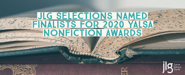 Congrats to the 2020 YALSA Excellence in Nonfiction for Young Adults Awards finalists!