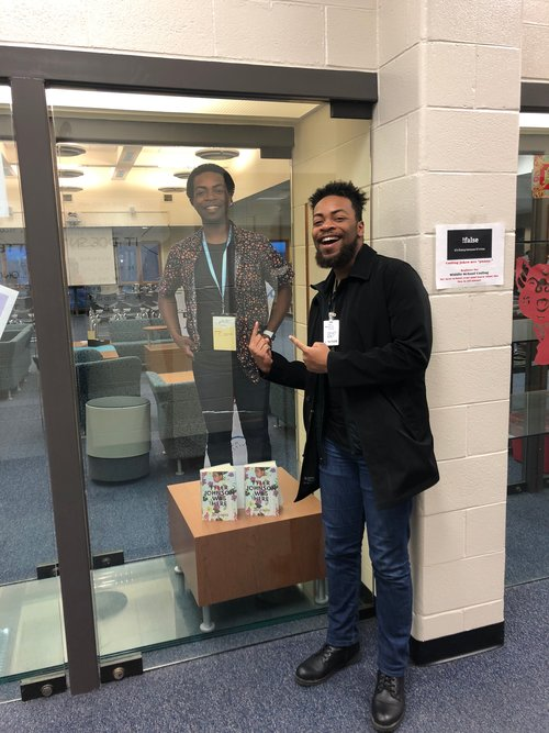 Author Jay Cole Visitiing the school