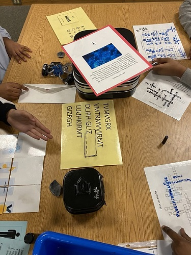 Rippon Middle School Breakout Boxes