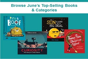 Top-selling books & categories for June
