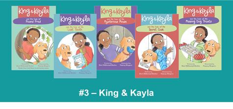 King & Kayla Book Stack