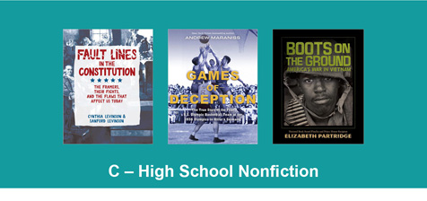 High School Nonfiction Book Stack