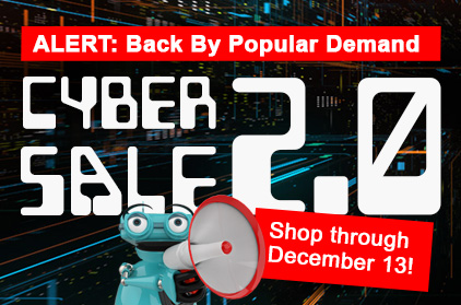 Cyber Sale 2.0 Extended!