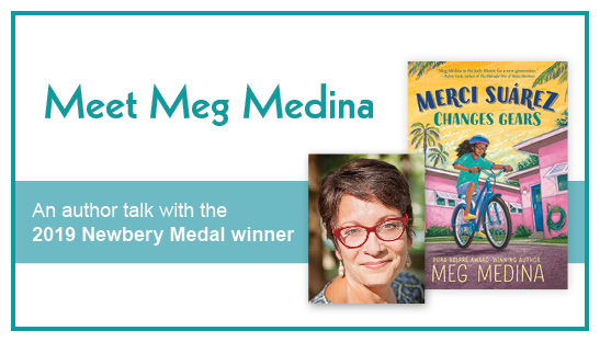 Meg Medina Changes Gears: An author talk with the 2019 Newbery Medal winner