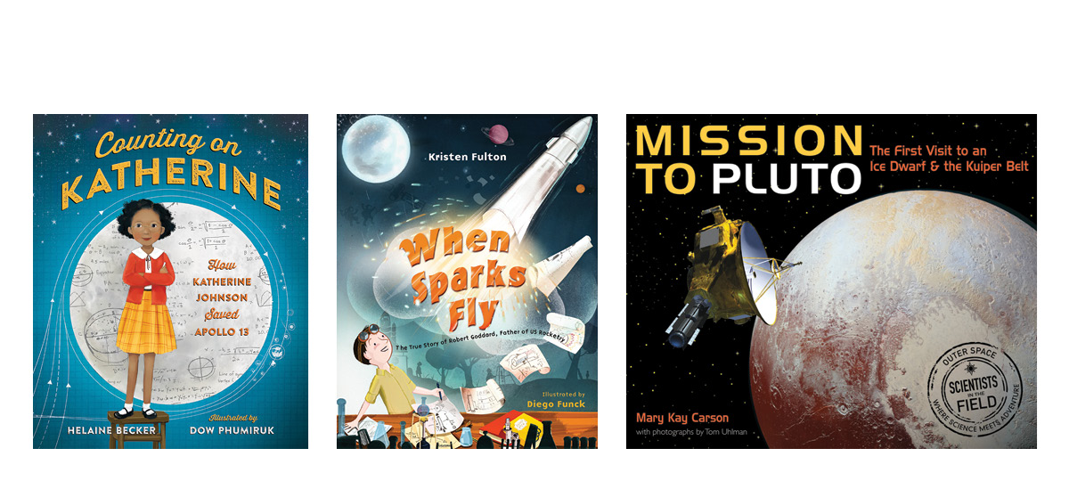 A Summer in Space STEM Reads