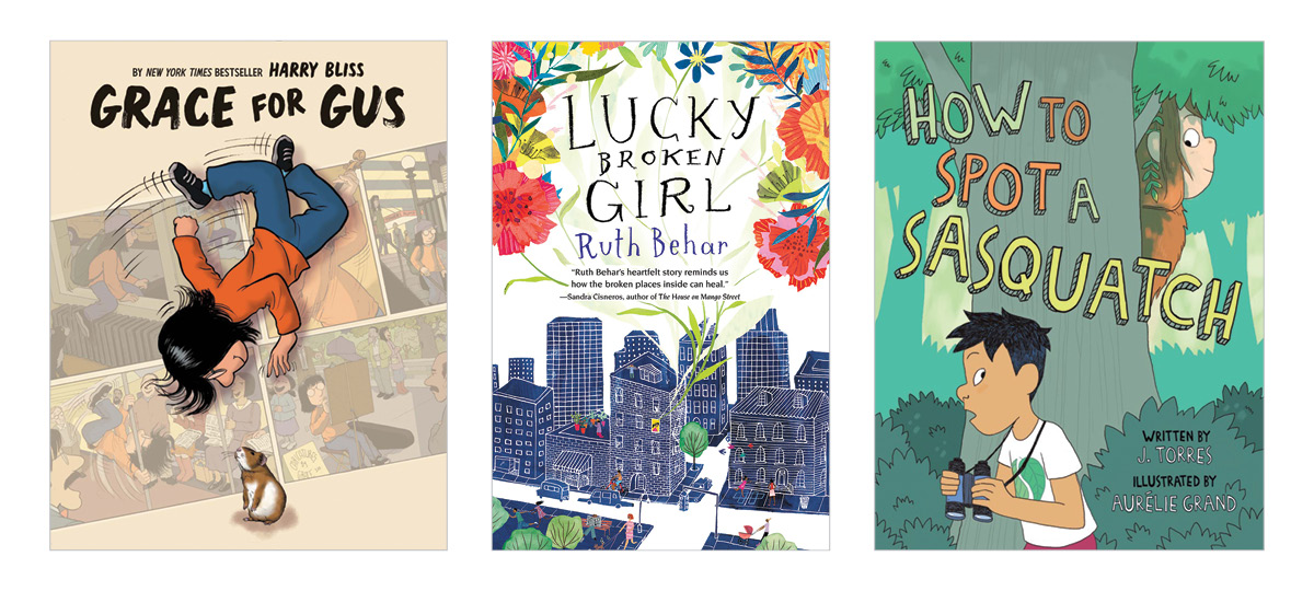 Spring Books for Elementary