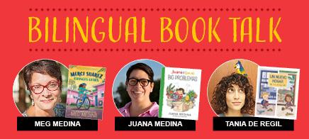 Bilingual Book Talk with Meg Medina April 2 | 3 p.m. ET