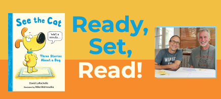 Ready, Set, Read! Excite and encourage young readers to pick up books
