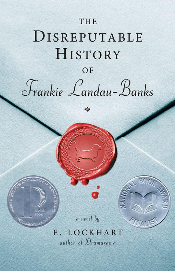 the disreputable history of frankie landau-banks by e. lockhart book cover