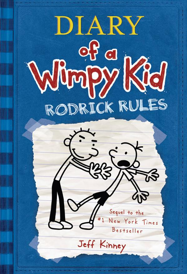 the diary of a wimpy kid rodrick rules book review