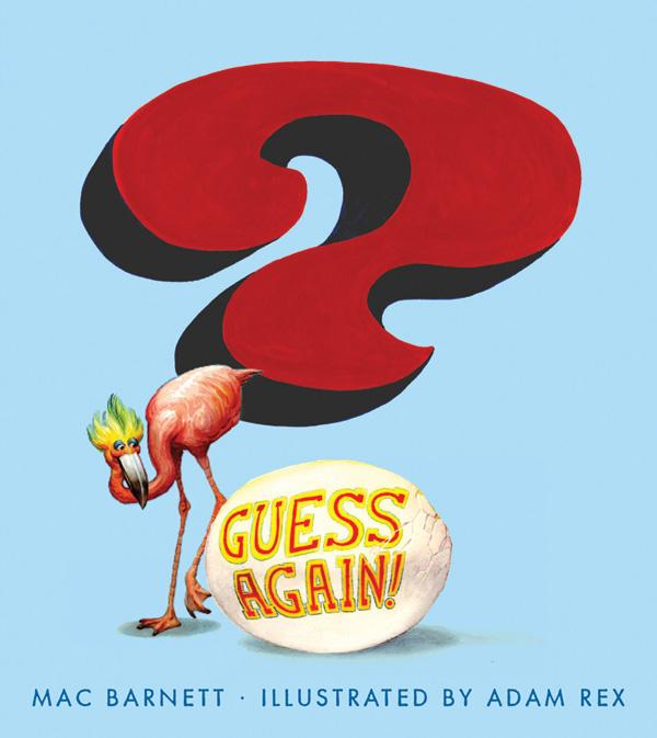 Guess Again by Mac Barnett Adam Rex book cover