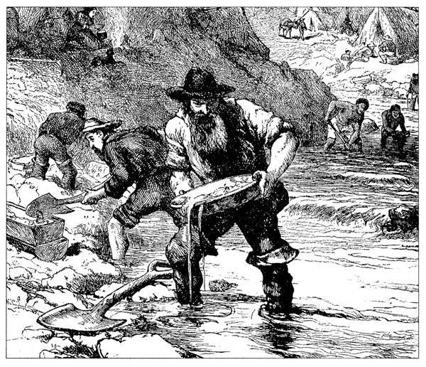 Colorado Gold Rush Of 1859