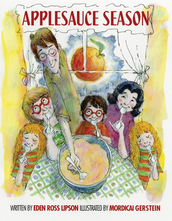 Applesauce Season by Eden Ross Lipson book cover illustrated by Mordicai Gerstein