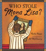 Who Stole Mona Lisa by Ruthie Knapp book cover